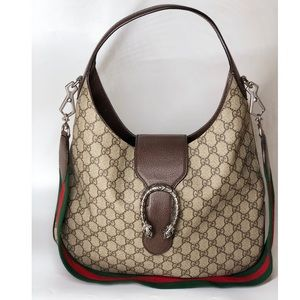 {Gucci} Monogram Hobo Bag